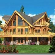 Домостроение, дома из бруса, комплекты панелей для домов каркасного типа фото