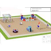 Разработка эскизов детских площадок фото