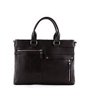 Коричневая мужская сумка SLavia фото