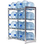Стеллаж для бутылей с водой фото