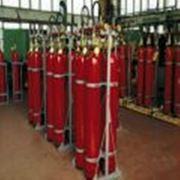 Поставка систем газового автоматического пожаротушения фото