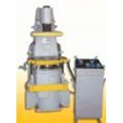 Машина формовочная пневматическая встряхивающе-прессовая без поворота полуформ. Модель 22113 фото