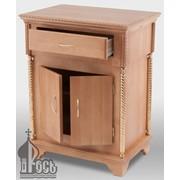 Стол литийный деревянный №4 с выдвижным ящиком фото