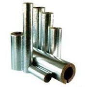 Цилиндры и полуцилиндры теплоизоляционые с покрытием алюминиевой фольгой 100-1000.133.30 фото