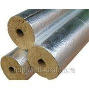 Цилиндры и полуцилиндры теплоизоляционые с покрытием алюминиевой фольгой 100-1000.70.30 фото