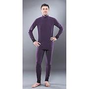 Кальсоны Guahoо мужские Fleece 700Р/DVT темно-фиолетовые 4XL фото