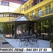 Каркасы оранжерей, зимний сад, веранда, балкон, 1 - Рамсес Ленд - высокое качество - материалы польские - монтируют пол фото