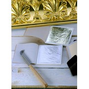 Сусальное золото цвет белый фото