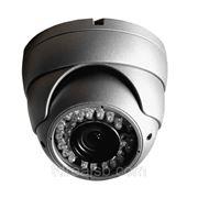 Видеокамера цв. JSC-DPV700IR (2.8-11мм) сер., 720ТВЛ, 0.0Лк, антивандал.купол, ИК-подсветка фото