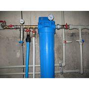 Монтаж систем горячего и холодного водоснабжения фото