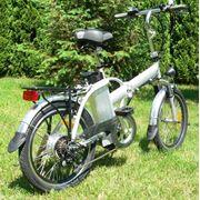 Электровелосипед складной легкий с литий фосфатным аккумулятором фото