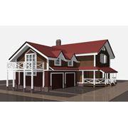 Дом каркасно-панельный Альбион фото
