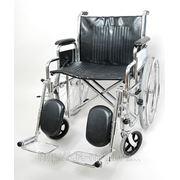 Кресло- коляска инвалидная (для полных людей) фото