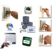 Монтаж систем контроля доступа фото