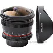 Samyang Samyang 8mm T3.8 AS IF UMC Fish-eye CS II VDSLR Canon EF фото