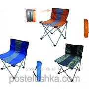 Стул-кресло складное 100 кг BC016-5L туристическое фото