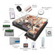 Услуги по установке систем пожарной и охранной сигнализаций противопожарной защиты фото