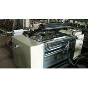 Машина бобинорезательная (бобинорезка) для бумаги плёнки фольги фото