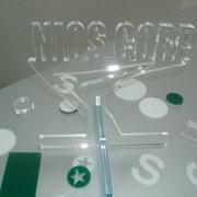 Лазерная порезка пластика, акрила, полистирола, ПЭТГ фото