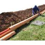 Прокладка наружных сетей канализации фото