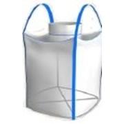 Биг-бэг полипропиленовый одно-двух-четырехстропный ленточный верхний люк плоское дно фото