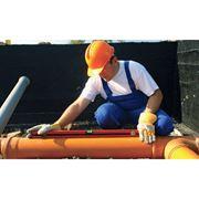 Монтаж наружных и внутренних сетей водоснабжения из ПЭ и ПП фото