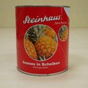 Ананасы консервированные кольцами Steinhaus фото