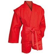 AX5, Куртка для самбо елочка красная, Р: 50/175 фото