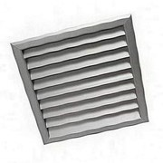 Решетка вентиляционная алюминиевая РАГ 400х1400 фото