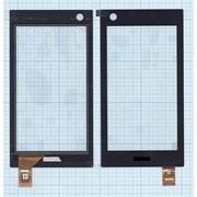 Сенсорное стекло (тачскрин) для ASUS 5491L FPC-2 черное фото