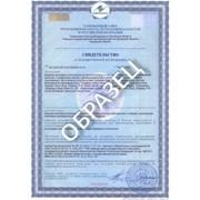 Услуга оформления Свидетельства о государственной регистрации СГР фото