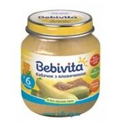Пюре Bebivita 100г Кабачок с говядиной фото