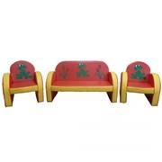 Набор каркасной мебели «Лягушки» фото