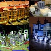 Изготовление макетов зданий и конструкций фото