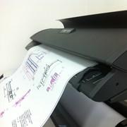 Сканирование чертежей, проектной документации фото