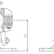 Зажим опорный для присоединения к шине(типа ОПЗТ3) фото