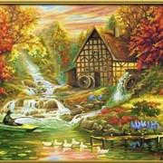 Раскраска по номерам Осень фото