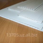 Пластик потолочный прямой цвет белый фото