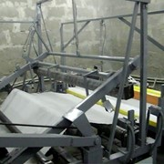 Станок перемоточный универсальный для изготовления туалетной бумаги (перемотка и оклейка-2 в 1). (СПУ) фото