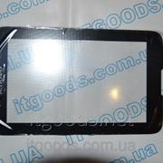 Тачскрин / сенсор (сенсорное стекло) для Lenovo IdeaTab A7-30 A3300 (черный цвет) + СКОТЧ фото