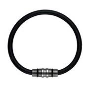 Colantotte Loop Crest Premium Black Магнитный браслет черный, размер M фото