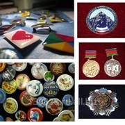 Изготовление значков и медалей фото