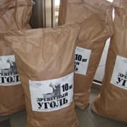 Паковање угаљ у врећама од 10-15 кг Украина фото