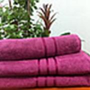 Полотенце цветное 50х90 Пакистан 400гр.  фото
