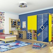 Детская мебель Джинс - Модульная фото