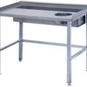 Стол производственный с одной ванной Атеси СО-1/1200/800 фото