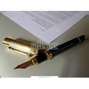 Составление договоров контрактов фото