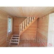 Лестница деревянная фото