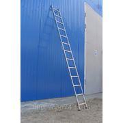 5115 Лестница односекционная алюминиевая фото