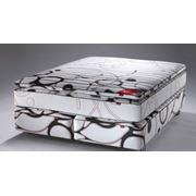 Континентальной кровати ЧЕРНЫЙ Multipocket Sensity фото